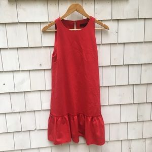 BANANA REPUBLIC Red Dress With Pockets